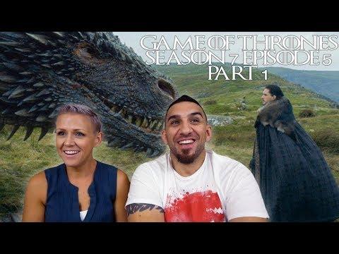 Game of Thrones Season 7 Episode 5 'Eastwatch' Part 1 REACTION!!