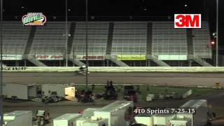 Knoxville 410 sprints 7-25-15