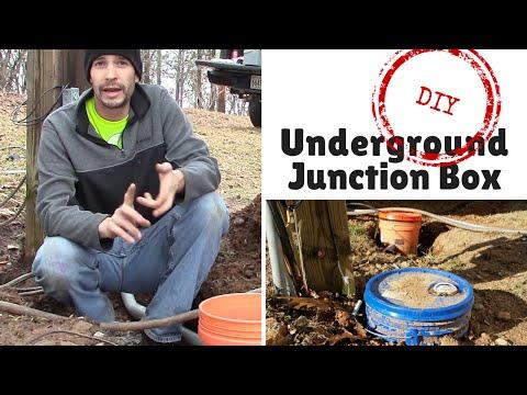 DIY Underground Junction Box