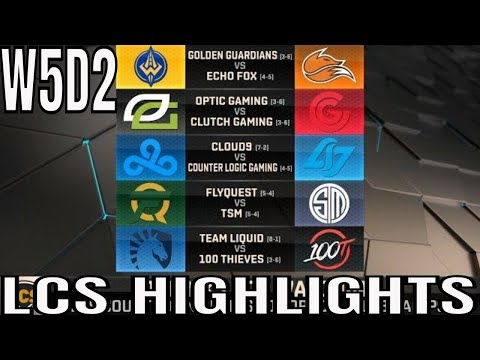 LCS Highlights ALL GAMES Week 5 Day 2 Spring 2019 League of Legends NALCS