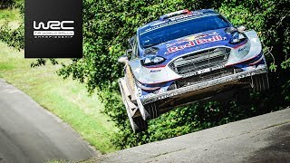 FIA World Rally Championship - ADAC Rallye Deutschland 2017 ▻ More WRC Videos: http://goo.gl/kKumd8 ▻ Official Website ...