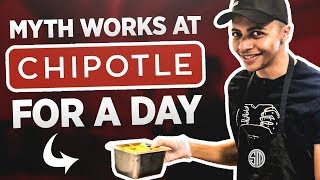 TSM Myth Works at Chipotle for a Day!