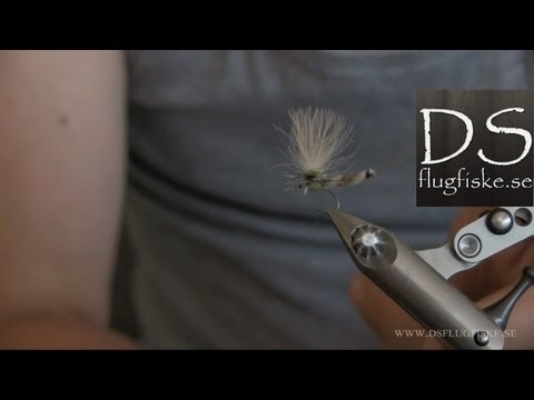 Flugbindningsvideo: Flugbindning Danica – dun