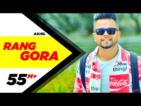AKHIL   RANG GORA (Official Video)   BOB   Latest Punjabi Song 2018   Speed Records видео