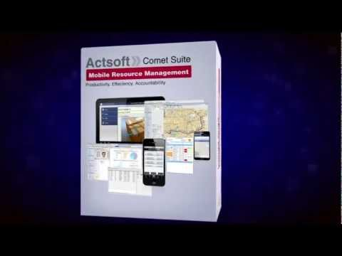 Video of Actsoft Comet Tracker