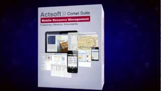 Actsoft CometTracker Tablet YouTube video