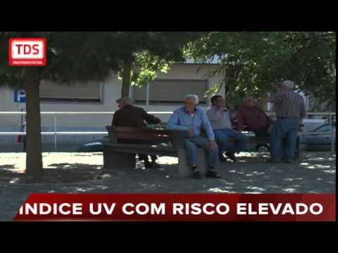 RISCO ELEVADO DE EXPOSIÇÃO A RADIAÇÃO UV