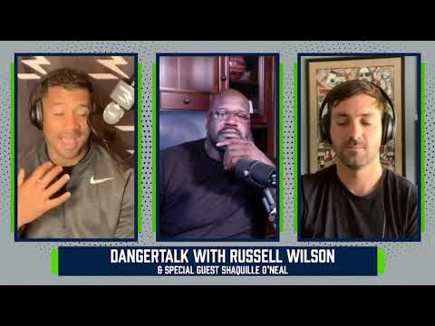 Shaq and Russell Wilson Remember the Late Kobe Bryant   DangerTalk   Season 1 Episode 1