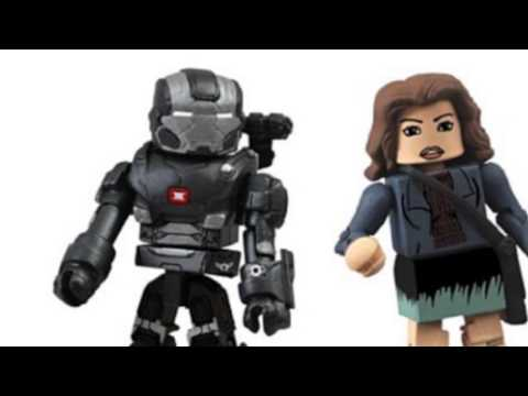 Video View the latest YouTube of Toys Series 49 Marvel Minimates Iron
