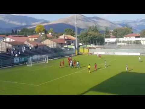 Coppa Italia Serie D, esce l'Avezzano ma a segnare è il portiere VIDEO