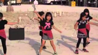 羽黒の夏祭り(17)ダンス・東児童セン
