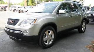 2008 GMC Acadia SLT AWD Start Up, Engine, And In Depth Tour