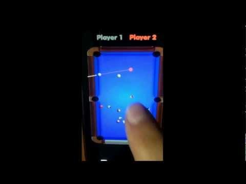 Video of Pool Billiard