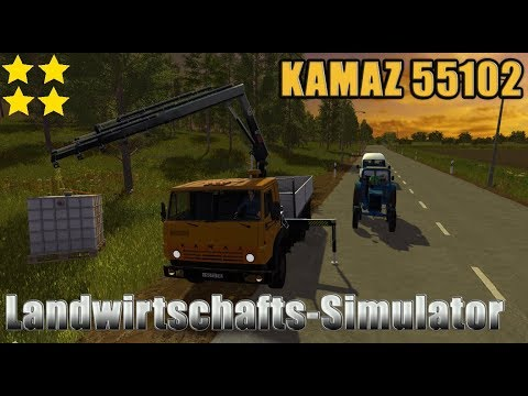 Kamaz 55102 MANIPULATOR v1.2