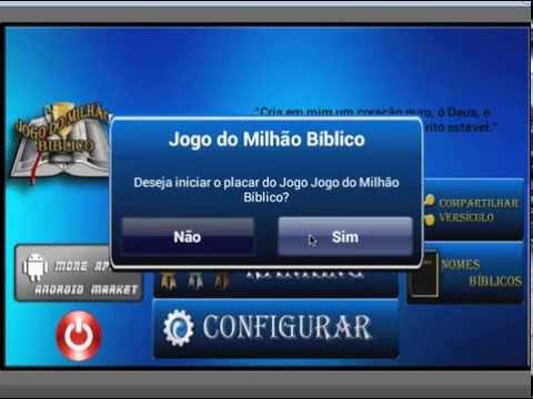 Video of Jogo do Milhão Bíblico