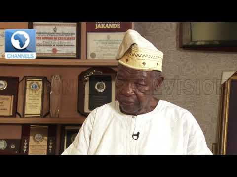 People Tell Me They Enjoyed My Time As Lagos State Governor-- Jakande  The Chat 