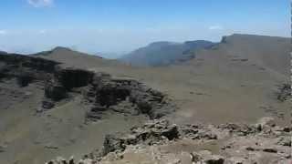 Etiopia Widok Z Ras Dashen