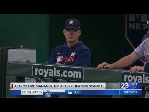 Cheating Scheme Leads to Firing of Houston Astros GM and Manager