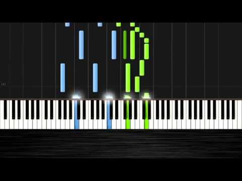 Ludovico Einaudi - Divenire - Piano Tutorial by PlutaX - Synthesia