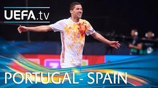 Video Futsal EURO Highlights: Spain beat Portugal 6-2 MP3, 3GP, MP4, WEBM, AVI, FLV Februari 2018