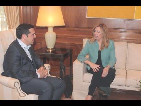 Δηλώσεις Φ. Γεννηματά μετά την συνάντησή του με τον Α. Τσίπρα