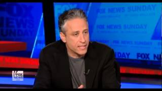 Video Jon Stewart Vs  Chris Wallace On Fox Bias extended version MP3, 3GP, MP4, WEBM, AVI, FLV Januari 2019
