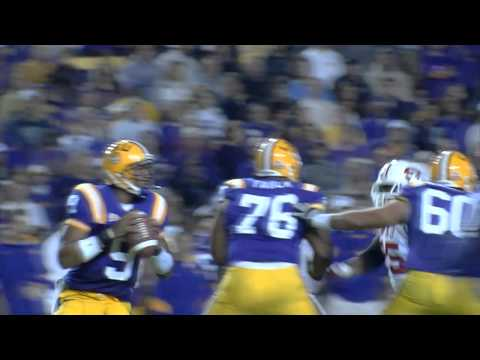 WKU LB Andrew Jackson Sacks LSU QB Jordan Jefferson video.