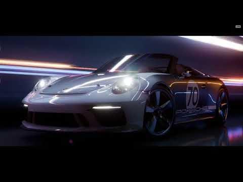 Porsche Demo Trailer de