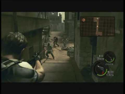 Resident Evil 5 Walkthrough Part 9 - Chainsaw Majini
