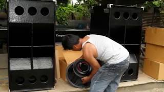 Video REMORIN MOBILE SOUND SYSTEM, PICTURE OF NEW 4pcs of P AUDIO sd18el, for DUAL SUB +more MP3, 3GP, MP4, WEBM, AVI, FLV Maret 2018