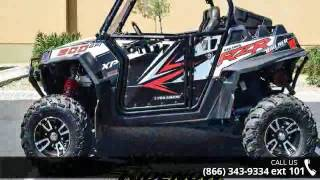 1. 2013 Polaris RZR XP 900 EPS Walker Evans Black/White LE  ...