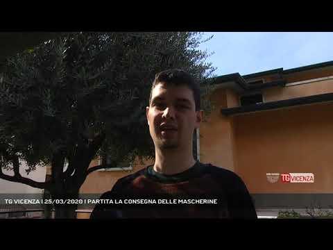 TG VICENZA | 25/03/2020 | PARTITA LA CONSEGNA DELLE MASCHERINE