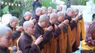 Lễ Tam Bộ Nhất Bái tại chùa Đức Viên, Ngày 07/08/2016