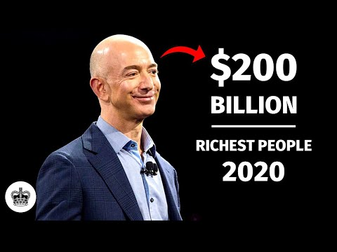 Top 10 Richest People In The World -- 2020 | September
