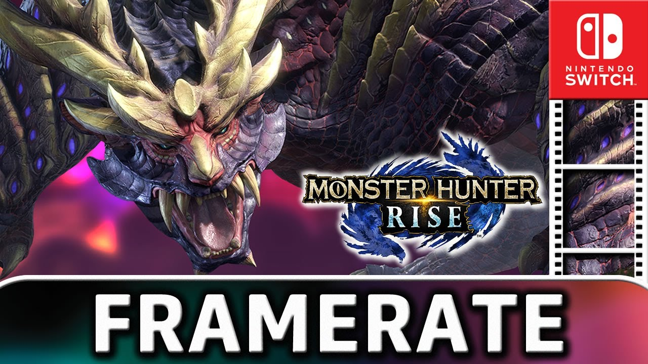 Monster Hunter Rise | Nintendo Switch Frame Rate Test and Co-op Online Gameplay