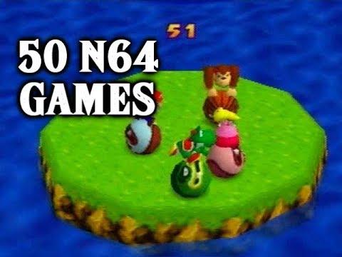 N64 - 50 Nintendo 64 Games