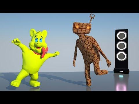 Детские клипы - ТАНЕЦ ИГРУШЕК - Музыка для детей - музыкальные мультики для малышей