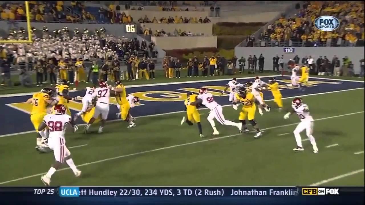 Stedman Bailey vs Oklahoma & Syracuse (2012)