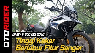 9. BMW F 850 GS First Ride Review Indonesia | OtoRider