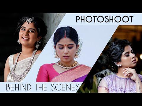 My recent photoshoot BTS - Aparna Thomas