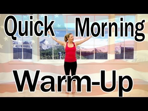 4th of July Pilates Warm Up