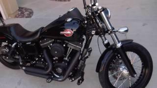 6. 2016 Harley Davidson Street Bob with Mods