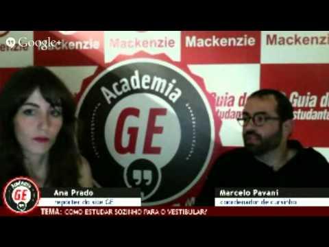 Academia GE: Como estudar sozinho para o vestibular?