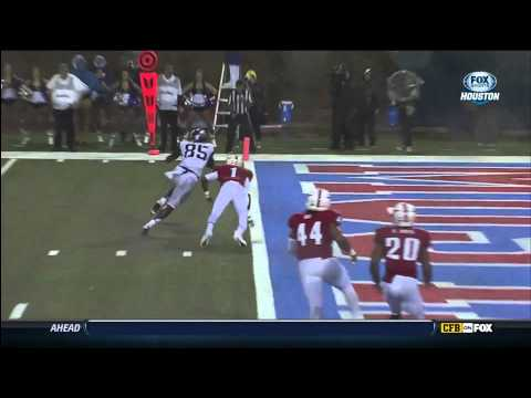 LaDarius Brown 10-yard touchdown catch vs SMU 2012 video.