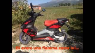 9. Il mio scooter Aprilia sr 50 R Factory