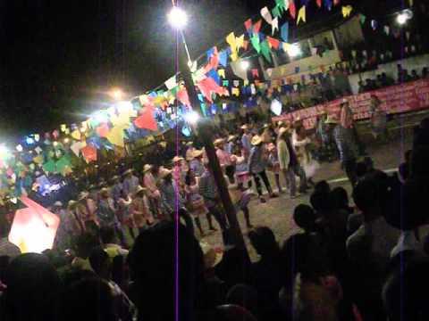Festa Junina em Itaeté 2012 - Quadrilha