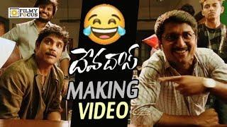 Devadas Movie Making Video || Nagarjuna and Nani Funny Bloopers