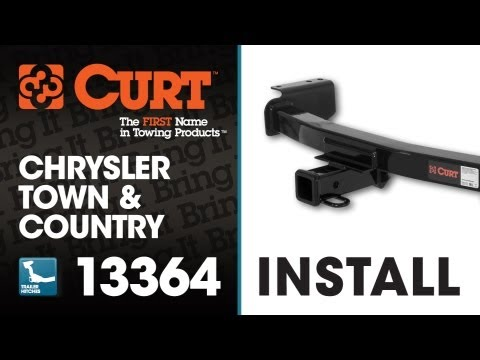 Trailer Hitch Install: CURT 13364 on 2009 Chrysler Town and Country