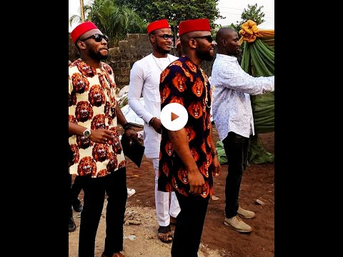 My brother's traditional wedding at Mbano, Imo State, Nigeria