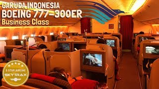 Video Garuda Indonesia Boeing B777-300ER | THE BEST Business Class on Domestic Flight MP3, 3GP, MP4, WEBM, AVI, FLV November 2018